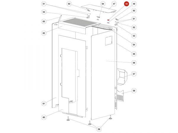 Rika Kapo Magnetschalter Oberteil | N111732 | Splitzeichnung Nr. 48