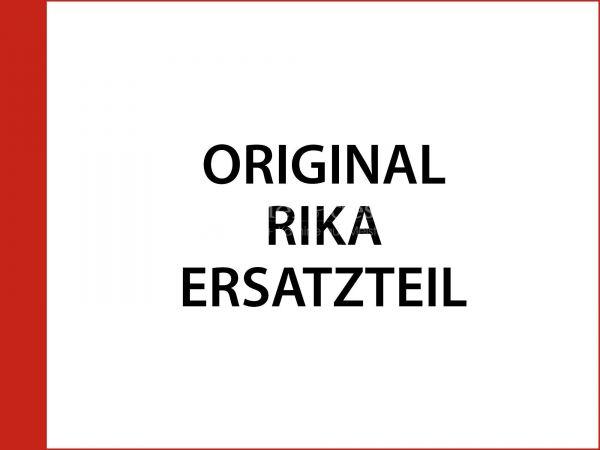 Rika Alpha II Feuerraumtür schwarz komplett | B13196 | Splitzeichnung Nr. 17