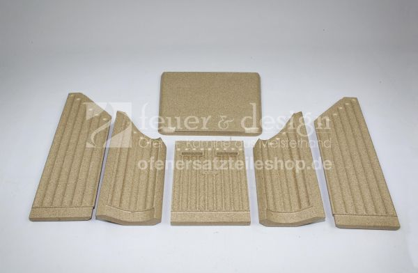 Termatech Vermiculite Satz | für Termatech TT30 | TT30S | Feuerraumauskleidung