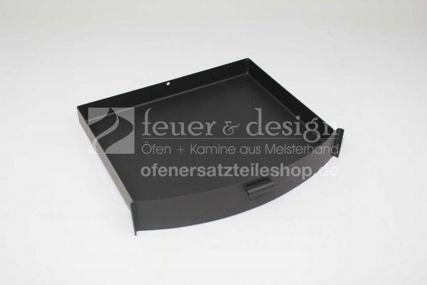 Termatech Ascheschublade | TT40 | Aschekasten | schwarz