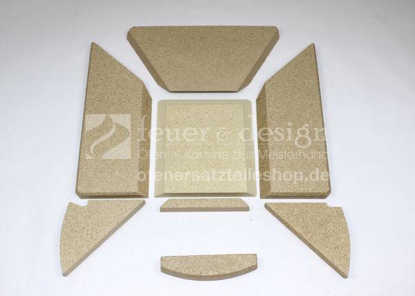 Skantherm Emotion S ( Baujahr bis 2014 ) Brennkammerauskleidung | Skantherm Vermiculitesatz
