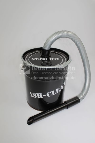 Ash-Cleaner 18 Liter | Aschsauger | Ascheschlucker | Kaminsauger