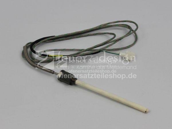 Brunner Thermoelement für Anschluss T1 | T3 mit Keramikrohr D6 M12