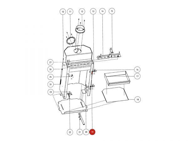 Rika Atrio Blende | Z29551 | Splitzeichnung Nr. 19