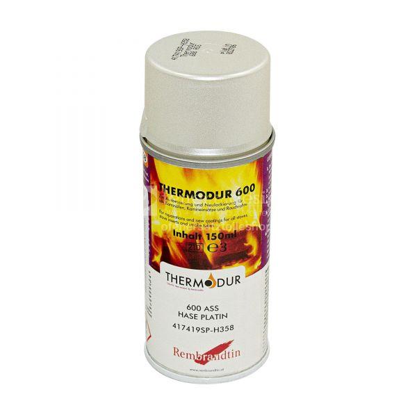 Hase Ofenspray | Ofenlack platin 150 ml | Thermodur 600 STAN