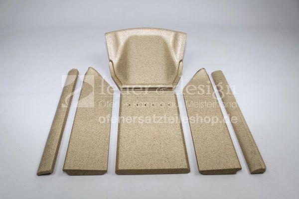 Contura Feuerraumaukleidung | Vermiculitesatz | für die Contura Modelle 750 und 750A