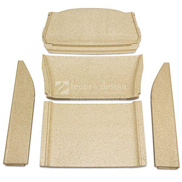 Contura 856TG Style Feuerraumauskleidung | Vermiculitesatz mit Seitenscheiben