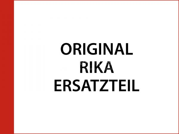 Rika Alpha II Türgriff komplett silber grau | B13809 | Splitzeichnung Nr. 12