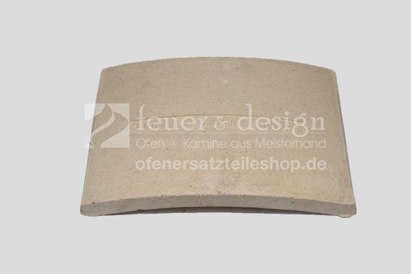 Brunner Schamotte-Umlenkstein hinten ( Nr.00062 ) |  passend zu SF10, HF10, B4 und HKD4.1SK, HWM