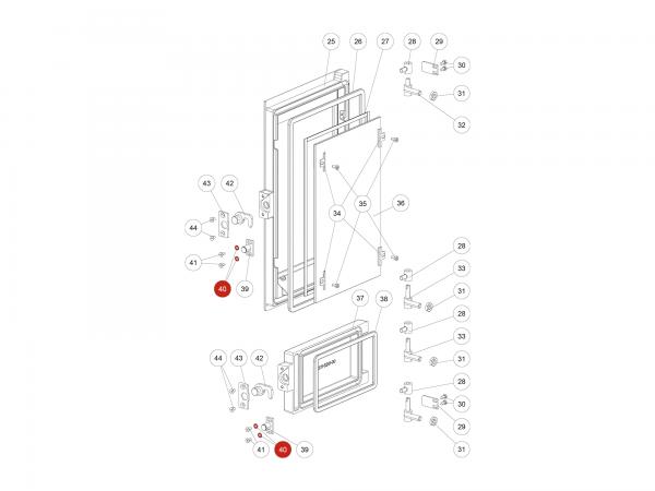 Scheibe M05 zu Rika Domo | N111965 | Splitzeichnung Nr. 40