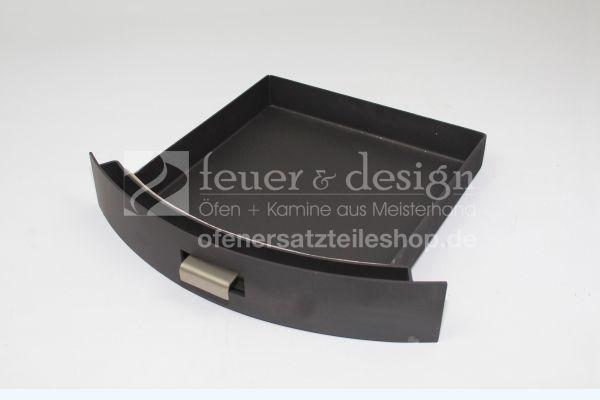 Termatech Aschekasten   TT2   TT3    Ascheschublade   schwarz