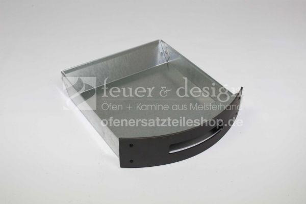 Contura Aschekasten | für die Contura Serie 600 ( ab Baujahr 2007 ) | grau