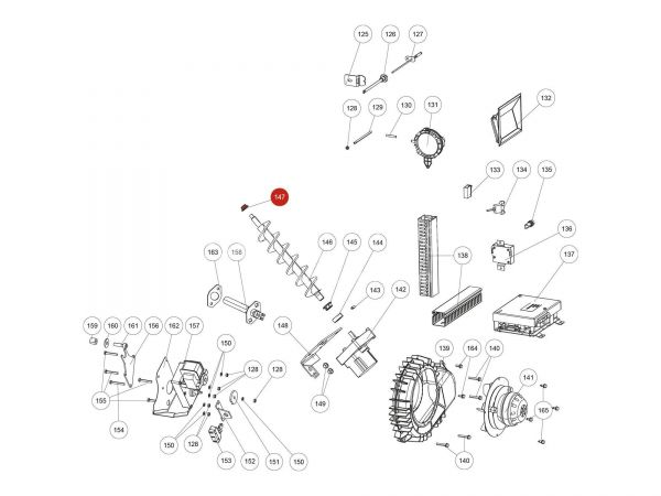 Gleitlager Di10 zu Rika Domo | Z35183 | Splitzeichnung Nr. 147