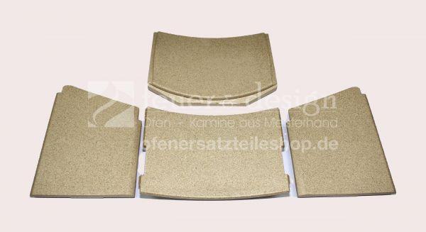 Contura Handöl Feuerraumauskleidung   Contura Serie 50   inkl. Schutzprofil   Vermiculitesatz