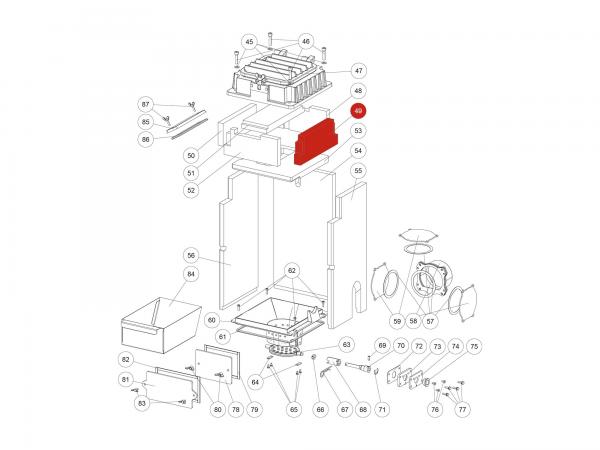ISK-Schraube M08x35 zu Rika Domo | N112047 | Splitzeichnung Nr. 46