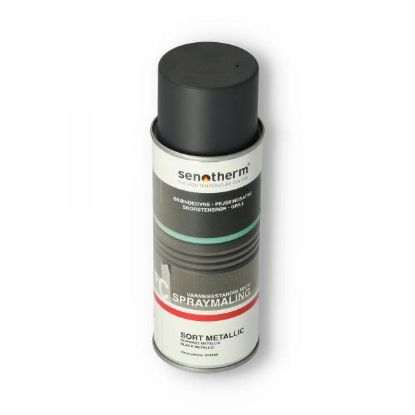 Lackspray Senotherm I schwarz metallic I 400ml I 703.381