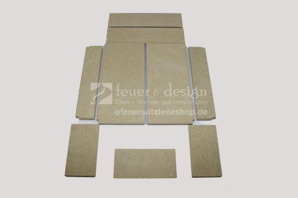 Skantherm Elements 603 3S Vermiculitesatz | Brennkammerauskleidung | 9 teilig