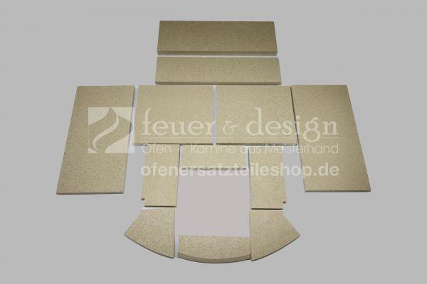 Skantherm Ator | Ator+ Vermiculitesatz B | mit Tertiärluft 15 mm | Baujahr 2008-2010 | 12 teilig