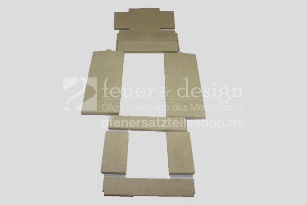 Skantherm Elements 603 Tunnel Vermiculitesatz | Brennkammerauskleidung | 9 teilig