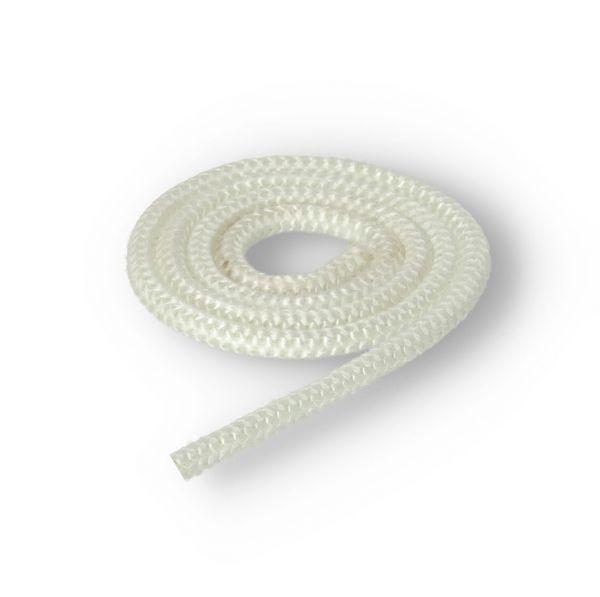 Glasstrickschnur I Türdichtung I Dichtschnur 8mm weiß | Meterware