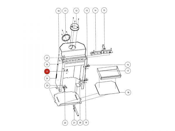 Rika Atrio Federhalter | Z29532 | Splitzeichnung Nr. 25