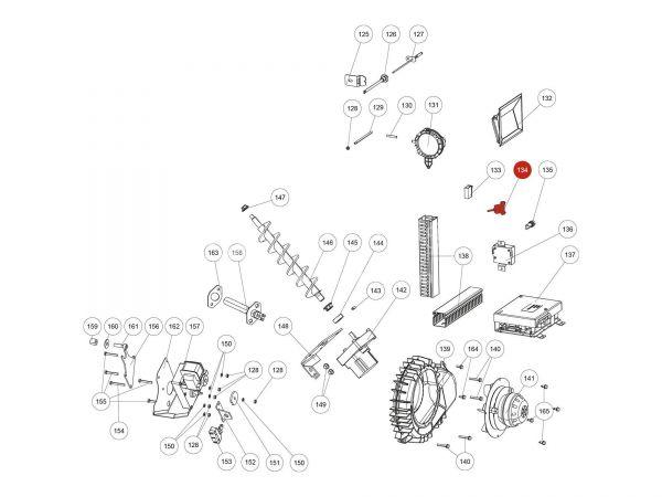 USB Kabel zu Rika Domo | N111989 | Splitzeichnung Nr. 134