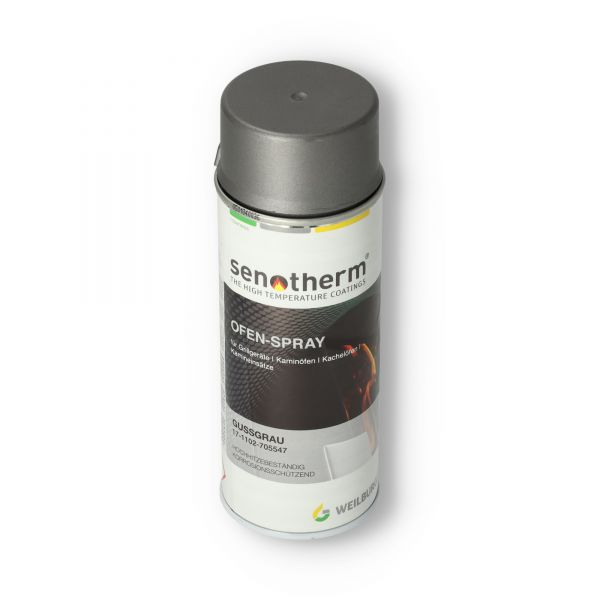 Ofenlack gussgrau UHT | Senotherm | 400 ml