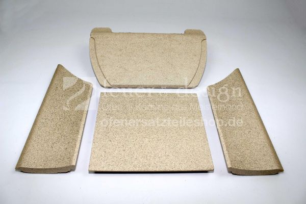 Contura Feuerraumaukleidung | Vermiculitesatz | für die Contura Modelle 655 und 655A
