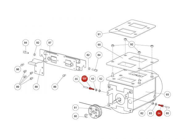 Rika Ambia Verstellschraube | N112476 | Splitzeichnung Nr. 84