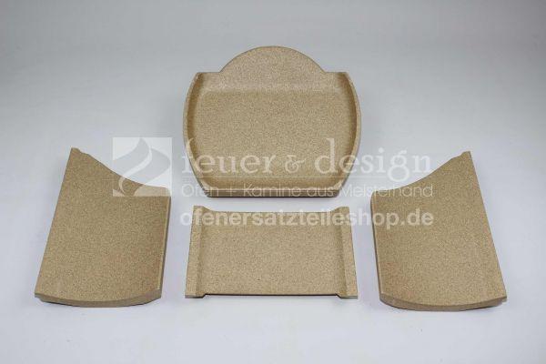 Contura 610G Style Feuerraumauskleidung | Vermiculitesatz