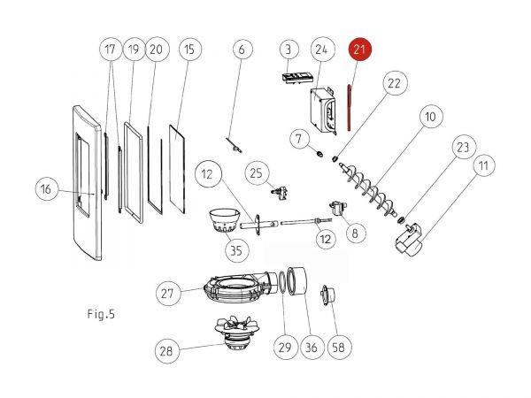 Schlüssel zu Rika Memo | N112018 | Splitzeichnung Nr. 21