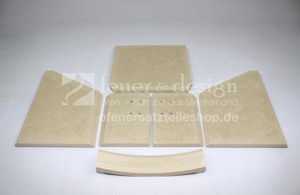 Termatech Vermiculite Satz komplett | TT10 | Feuerraumauskleidung | Brennraumauskleidung