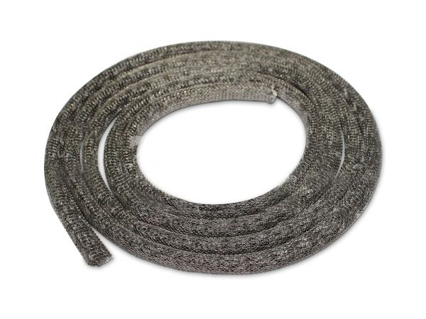 Brunner Ofendichtung | Strickschnur 11mm schwarz VA-umflochten