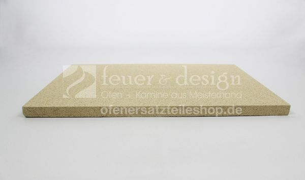 Vermiculiteplatten ( 60 x 40 x 2,5 cm ) | Thermax SF 600 Feuerraumauskleidung