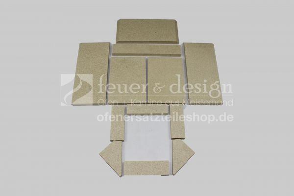 Skantherm Adano Vermiculitesatz | mit Tertiärluft 15 mm | ab Baujahr 2010 | 12 teilig