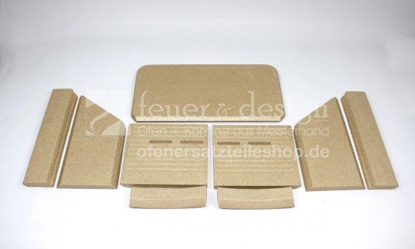 Termatech Vermiculite Satz | TT22 | Feuerraumauskleidung