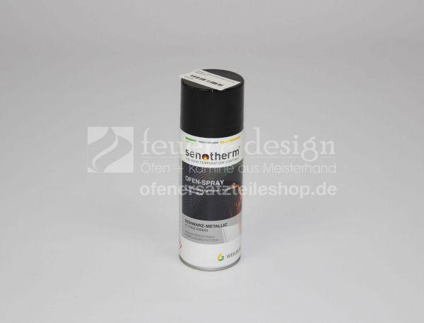 Senotherm Ofenspray 400 ml schwarz-metalic