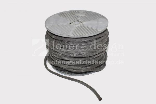 Brunner Türdichtung | Drahtgewebedichtung ca. 11 mm | Schlauch mit 8 mm Drahtstrickschlauch