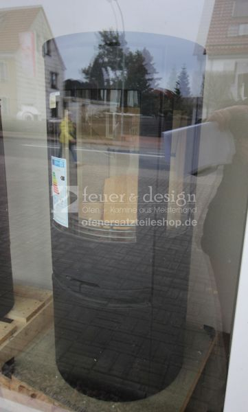 Contura Kaminofen 556:1 Style | Gussabdeckung | Gussfront | Seitenglas | Holzfachtür | Lack Schwarz