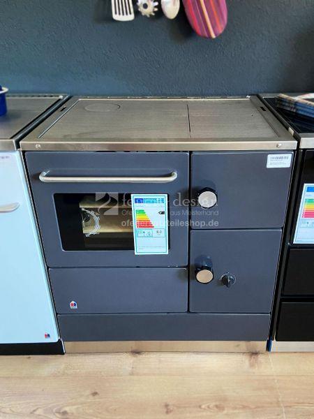 Heiz und Backherd HBH 75   Stahlherdplatte   anthrazit   7,5 kW   ARA links   Ausstellungsstück