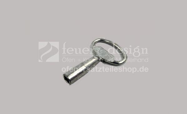 Kamintür Vierkantschlüssel | passend zu den Schornsteintüren von Zürn