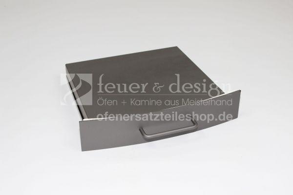 Contura Aschekasten mit Deckel | für Serie 400 | grau