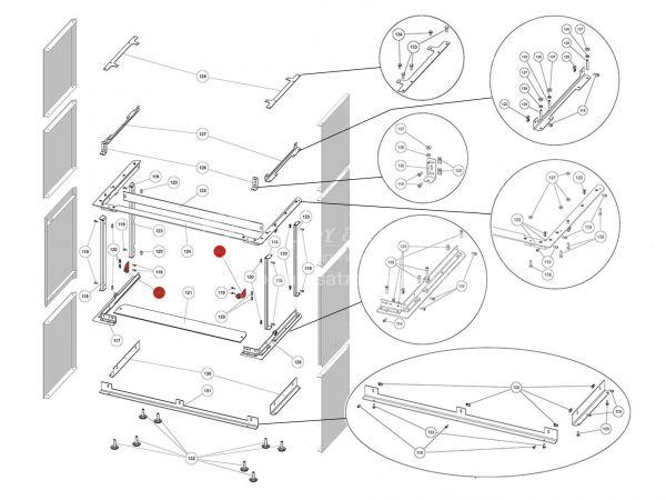 Rika Ambia Magnet | B18577 | Splitzeichnung Nr. 122