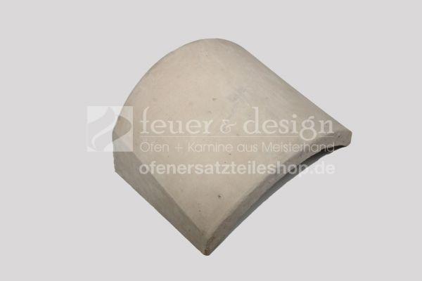 Brunner Schamotte-Umlenkstein G vorne ( Nr.01207 ) |  passend zu HF10, B4 und HKD4.1SK