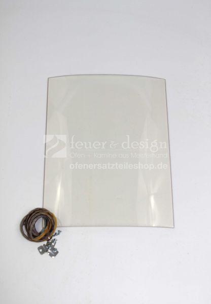 Contura Türglassatz | Glasscheibe inkl. Dichtung | für die Contura Serie 800