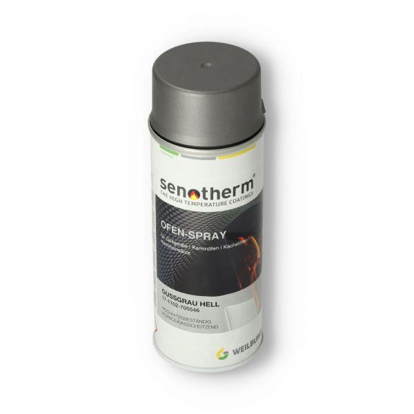 Ofenlack gussgrau-hell UHT | Senotherm | 400 ml