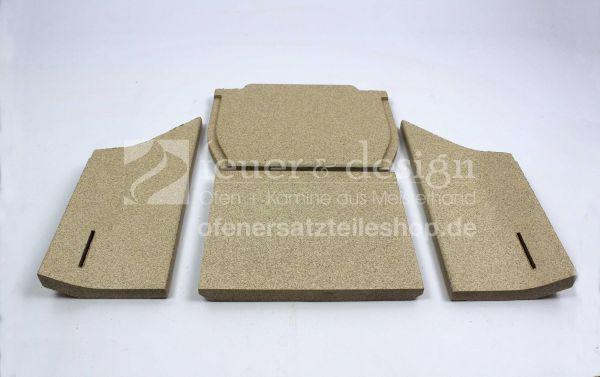Contura Feuerraumauskleidung | Vermiculitesatz | für die Contura Serie 30