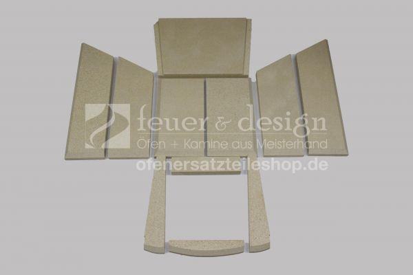 Skantherm Ivo Vermiculitesatz | mit Tertiärluft | Baujahr bis 2014 | 11 teilig