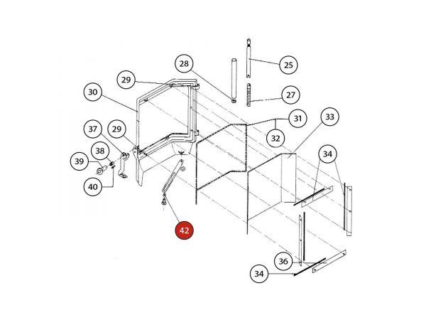 Distanz zu Rika Amato | Z12085 | Splitzeichnung Nr. 42