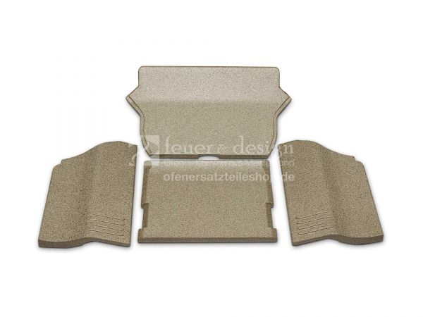 Contura Handöl Feuerraumauskleidung | Contura Serie 20 | Vermiculitesatz